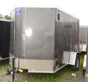 6×10 V-Nose Cargo Trailer