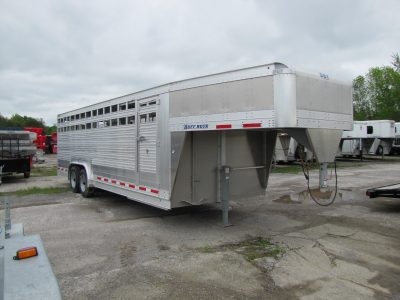 Ruff Neck 24ft Livestock Trailer