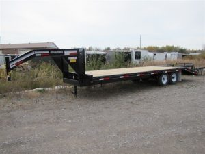 25′ – 7 Ton Equipment Trailer