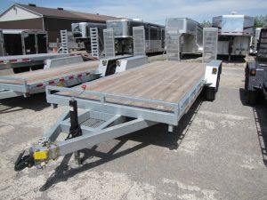 7 Ton Galvanized Equipment Trailer