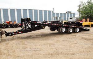 30 Ton 24+6′ Tilting Equipment Float