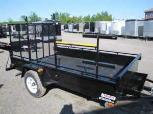 6X10 Landscape Trailer With A Landscapers Package