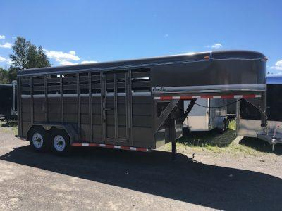 16′ Gooseneck Livestock Trailer