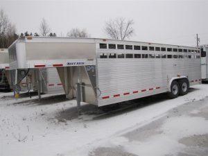 24ft Livestock Trailer
