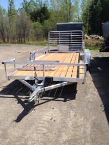 7X16 Aluminum ATV / Landscape Trailer