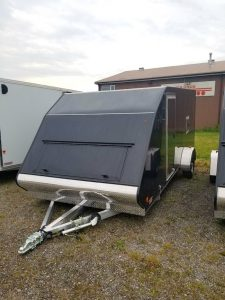 All Aluminum 7'X16′ Snowmobile Trailer