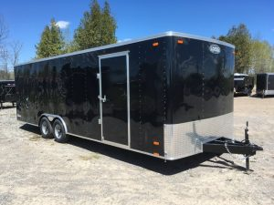 8.5′ x 24′ Enclosed Car Hauler