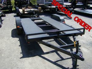 16′ Open Steel Car Hauler