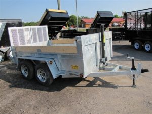 3.5 Ton 12ft Galvanized Dump Trailer