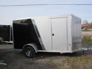 6×12 Aluminum V-Nose Cargo Trailer