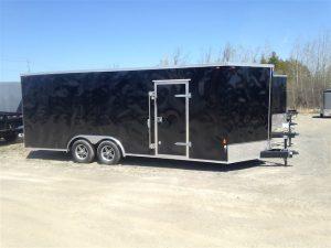 8.5′ X 20′ V-Nose Cargo  / Car Trailer