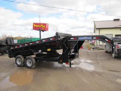 7 Ton 14ft Gooseneck Dump Trailer