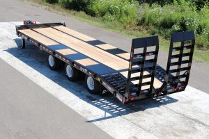 30 Ton Tag Equipment Trailer