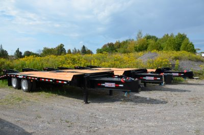 20 Ton Tag Equipment Trailer