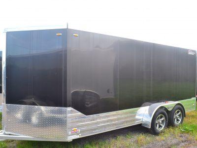 7×19 Aluminum Enclosed Trailer