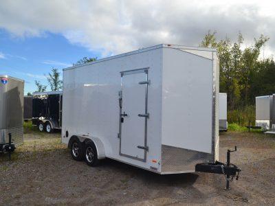 7×16 Enclosed Extra Tall Cargo Trailer