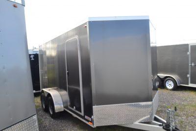 7×16 Aluminum Cargo Trailer
