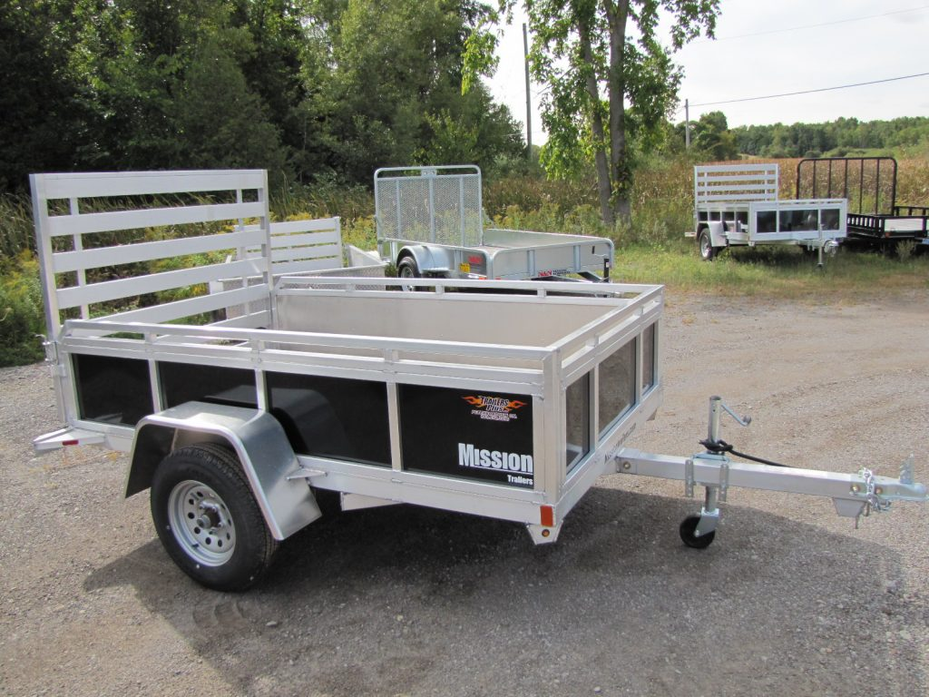 Utility Trailers For Sale Ontario >> 2018 Mission Trailers 5x8 Aluminum Utility Trailer | Trailers Plus