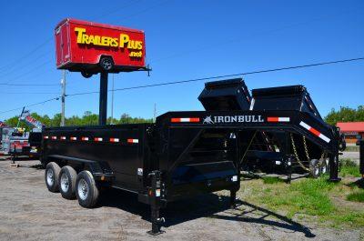 16′ Tri Axle Gooseneck Dump Trailer