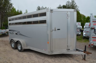 16′ Used Aluminum Stock Trailer