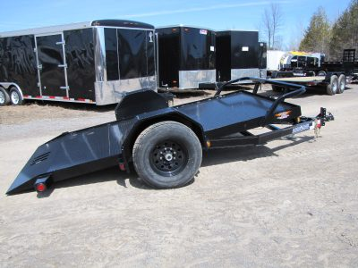 Single Axle Tilt Trailer