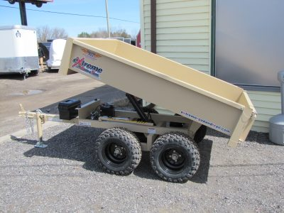 Off Road ATV Dump Trailer