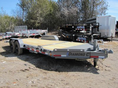 20′ Tilt Equipment Trailer
