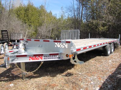7 Ton Deck Over Equipment Trailer