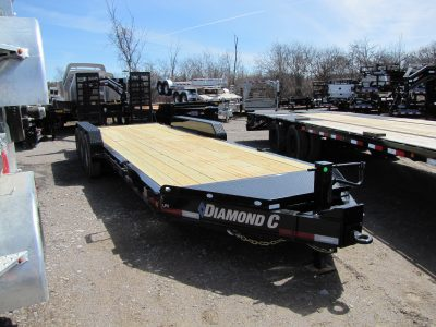 21k Tri Axle Equipment Trailer