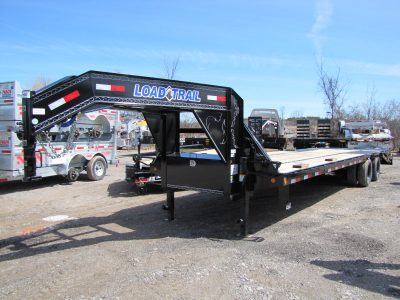 30′ Gooseneck Equipment Trailer