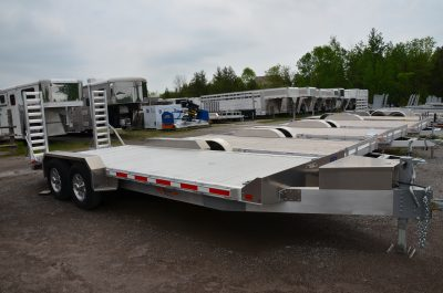 20′ Aluminum Equipment Trailer
