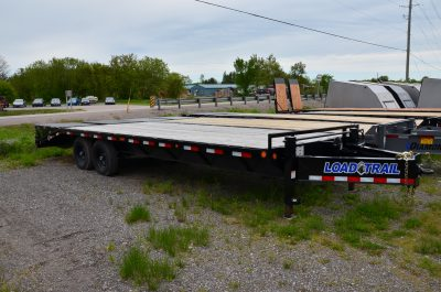 25′ Heavy Duty Equipment Trailer