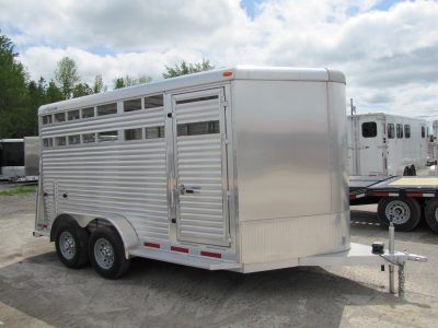 14′ Aluminum Stock Trailer
