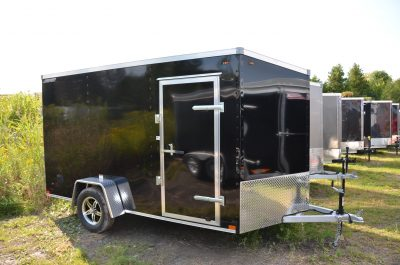6.5×12 Aluminum Enclosed Trailer