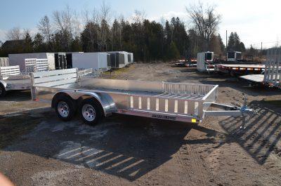 16′ Aluminum ATV / Utility Trailer