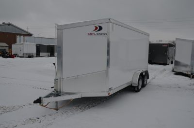 7×14 Composite Enclosed Trailer