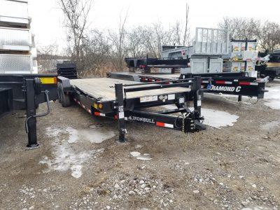 26′ Tri Axle Equipment Hauler