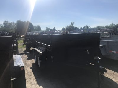 6×10 3.5 Ton Dump Trailer