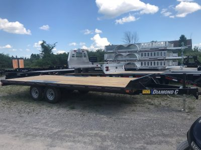 20 FT Deck Over Equipment Trailer